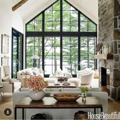 Future mountain home inspo!! So pretty @annehepfer via @housebeautiful — also check out our sales picks on insta stories!!