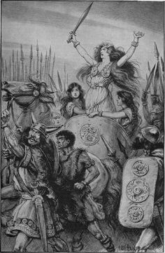 Who could Boudica (warrior queen) be related to in a persuasive essay?