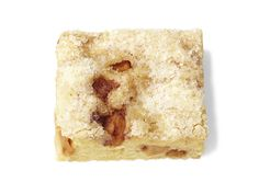 Apple Pie Bars (No. 12) : Saute 2 diced peeled Golden Delicious apples in 1/2 stick butter with 1 tablespoon sugar and 1 teaspoon apple pie spice until softened. Make Sugar Cookie Bars (No. 9), stirring the apples into the batter. Sprinkle with coarse sugar before baking.