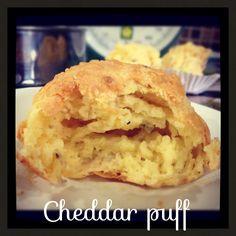 Cheddar puff