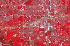 Unbelievable - Satellite picture reveals the scar left behind by Moore tornado  Red