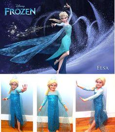 Frozen:  Elsa's dress