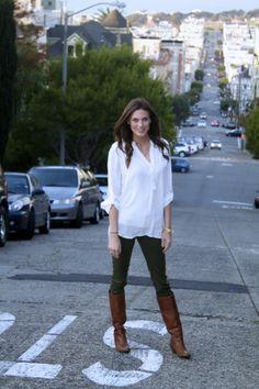 Olive green pants @Zara Lamey @officialzara #fall #zara
