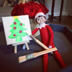 The artist elf