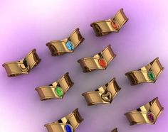 Cet américain et son équipe se sont spécialisé dans la confection de bijoux geek depuis 2013 en s'inspirant principalement des séries télés, des jeux vidéos et des romans célèbres issus de la pop culture. Il a ainsi créé plusieurs bagues, colliers, bracelets inspirés des licences Star Wars, Sailor Moon, Pokémon, Dragon Ball ou encore Zelda. Bague