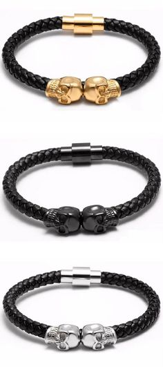 A fresh appearance with this stunning Bohemian Skull bracelet