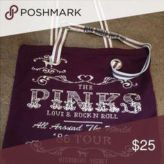 Victoria's Secret pink purse Victoria's Secret pink purse cloth Victorias secret Bags Shoulder Bags