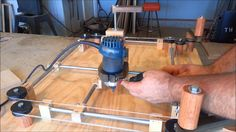 Building a shop made (Router Jig) that works like an Etch A Sketch, I built this 3 axis router jig to inspire my kids to spend more time in the shop. They lo...