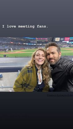 Cute Couples Goals, Couple Goals, New York Yankees Game, Dc Comics Film, Clint Frazier, Blake Lively Ryan Reynolds, The Game Is Over, Celebrity Couples, Gossip Girl