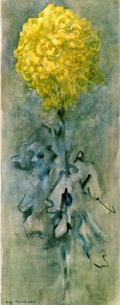 Image result for Mondrian Flowers