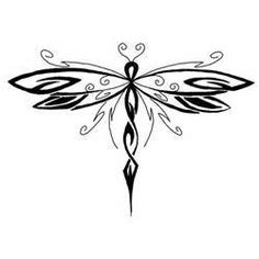 Dragonfly Tattoo Pattern5 Pe Polynesian Tattoos Picture #12900 600x428