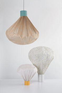 | Original lamps, by Inga Sempé. |