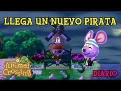 Animal Crossing New Leaf | Llega un nuevo Pirata | DIARIO