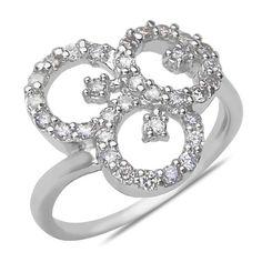 Ladies 1/2CT Diamond Fashion Ring in 14k White Gold (Size...…