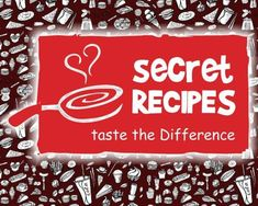 Secret Recipes 50  famous menus Secret Recipe, Ebooks, Menu, How To Apply, Recipes, Menu Board Design, Ripped Recipes, Cooking Recipes