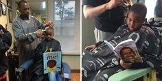 Эта на вид простая парикмахерская в городе Ипсиланти (Мичиган, США) не только стрижет волосы. Она также снижает цены для деток, которые читают в слух в процессе своей стрижки. На такой маркетинговы…