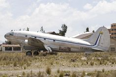 Abandoned old planes at La Paz - Jfk International (El Alto) Airport - Bolivia