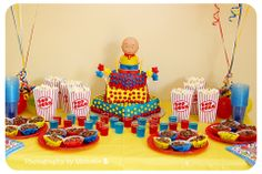 Caillou party and cake! #caillou