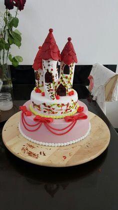 Princess castle cake Princess Castle, Cake, Desserts, Food, Galaxies, Pies, Tailgate Desserts, Deserts, Kuchen