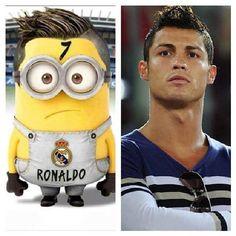 Cristiano Ronaldo Minion