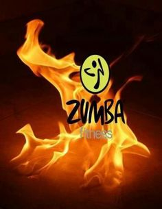 Zumba Fuego! These dancers are on fire.