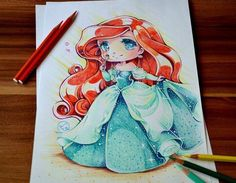 Ariel ** Artiste : Lighan's Artblog **