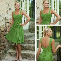 Elegant Vintage Lady's Bow New Sweetheart Bridemaid Dresses for Wedding Party Dresses 2014 100% Quality Guarantee $52,16