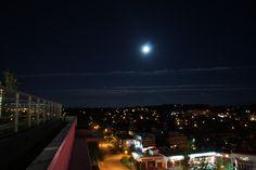 Super moon night at 3am