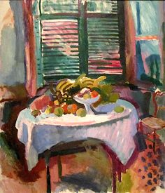 Raoul Dufy - Still Life with Closed Shutters, 1906