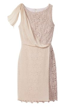 Asymmetrically draped silk and cotton make crochet evening-appropriate.     Editor's Tip: The draping looks especially elegant on boy-shaped bodies    Read more: http://www.oprah.com/style/Summer-Dresses-You-Can-Wear-on-Any-Occasion/