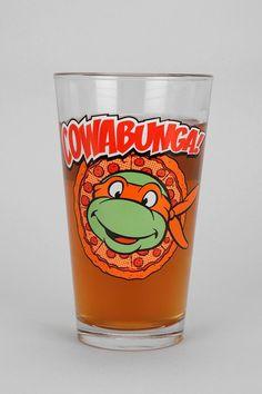Teenage Mutant Ninja Turtles Pint Glass #urbanoutfitters