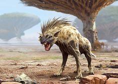 ArtStation - Fantasy Hyena , Nagy Norbert