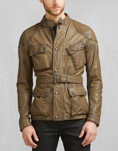 Speedmaster 2016 Jacket - Pale Military Leather Leather