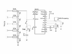 Simple CD4046 VCO
