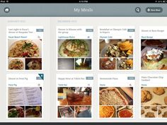 Evernote Food for iOS by Kara Hodecker, via Behance