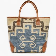 Elsa Handwoven Tote Bag by mo&co. bags on Scoutmob