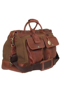 Leather + Canvas Weekender