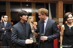 Joachim Löw & Prince Harry