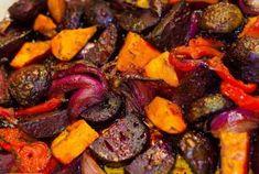 Tepsis cékla köret recept   Ízzel-lélekkel.hu Clean Recipes, Diet Recipes, Cooking Recipes, Healthy Recipes, Vegetarian Recepies, Vegas, Hungarian Recipes, Paleo Dessert, Pot Roast