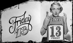 Superstitious precautions to take for Friday the 13th, you know, just in case