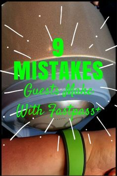 As you plan for your trip, make sure you avoid these 9 mistakes guests make with Fastpass+! #3 is a biggie!