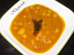 Tangy Chickpea and Potato Curry