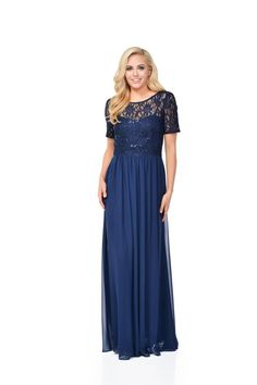 b97baa906f DFI 1487 Long Sweetheart Lace Bridesmaid Dress
