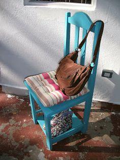 Cadeira sapateira.