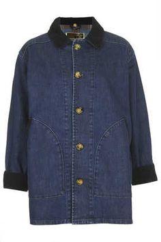 MOTO Fishing Jacket - Denim  - Clothing