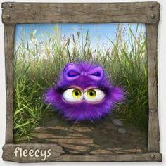 minni fleecy lila