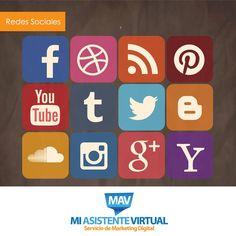 Las redes sociales mueven al mundo y son una estrategia muy efectiva para los negocios. Por ello en Mi Asistente Virtual ponemos a tu disposición nuestro servicio de manejo de redes sociales. Para más información contáctanos a: info@miasistentevirtual.biz  #RedesSociales #MiAsistenteVirtual #Emprendedores