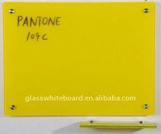 Ultra White/Enlighten Magnetic Glass Dry Erase Board
