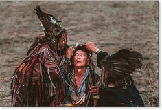 Shaman women from Tuva, attending a gathering with other shamans from around the world who gathered in Siberia for ceremony timed to coincide with the coming shift