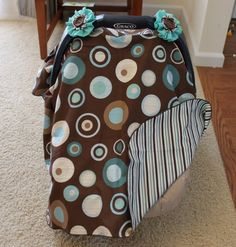 Jessica from This Too Projects is here today to show us how to make a Fabric Car Seat Cover. This would be a great gift for a baby shower or Christmas!   Jessica is a mother of 5 kids and still fin…